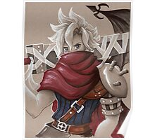 Toned Paper Cloud Strife Poster