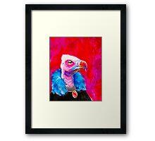 Victorian Vulture Framed Print