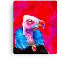 Victorian Vulture Canvas Print