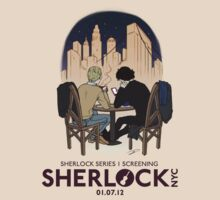 Sherlock NYC - SCREENING - Night (Purple Logo) by SherlockNYC
