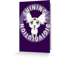 Shining Digivolution Greeting Card