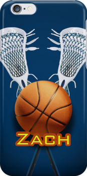 Basketball Lacrosse - iPhone Case by Christopher Herrfurth
