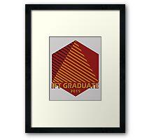 IFT Grad 2015 Framed Print