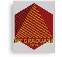IFT Grad 2015 Canvas Print