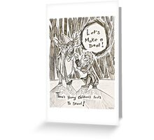 OTGF: Let's Make A Deal Greeting Card