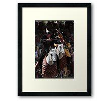 Archer on Horseback Framed Print