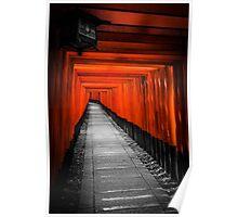 Fushimi Inari Shrine Poster