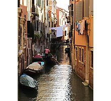 Venetian Canal Photographic Print
