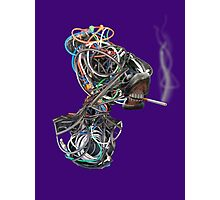 Wilma the Wire Woman Photographic Print