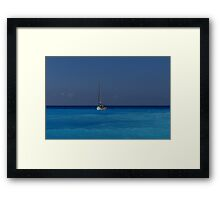 """""""Sleeping With The Enemy"""" Framed Print"""