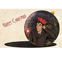 Doctor Who Christmas Photographic Print