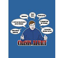 Community -- CRISIS ALERT! Photographic Print