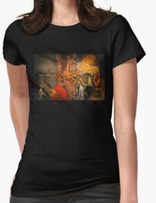 Louis Armstrong Womens Fitted T-Shirt