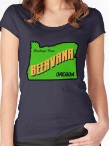 Beervana Women's Fitted Scoop T-Shirt
