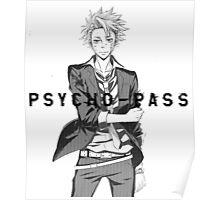 Psycho-Pass Kagari Poster