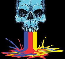 Primary Coloured Scream by damienbaumgart