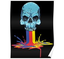 Primary Coloured Scream Poster