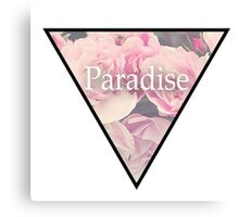 Paradise Flowers Canvas Print