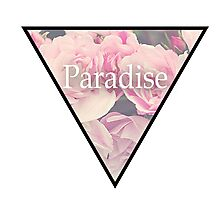Paradise Flowers Photographic Print