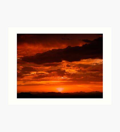 Sunset #10 Art Print
