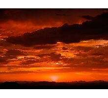 Sunset #10 Photographic Print