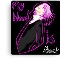 Crona: My blood is black Canvas Print