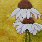 Coneflowers memories by Madalena Lobao-Tello