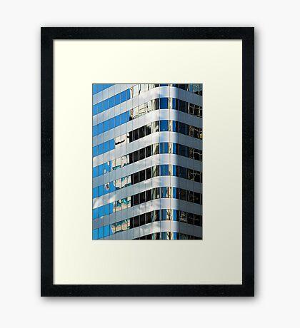 Denver reflection 9 Framed Print