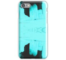 Blue Edit of New York 01 iPhone Case/Skin