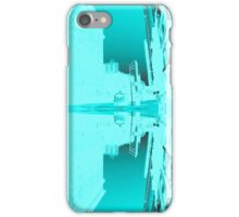 Blue Edit of New York 03 iPhone Case/Skin