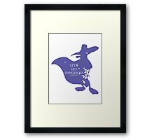 House Darkwing Framed Print