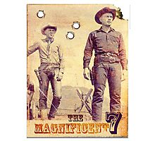 The Magnificent Two Photographic Print