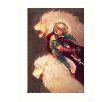 Prince of Lions Art Print