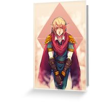 Willing Hero Greeting Card