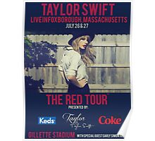 taylor swift - gillette stadium Poster