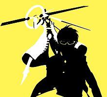 Yu Narukami/Izanagi-no-Okami (Persona 4) by RobsteinOne