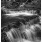 Below Delaware Falls November 2011 by Aaron Campbell