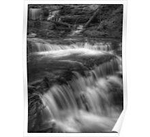 Below Delaware Falls November 2011 Poster