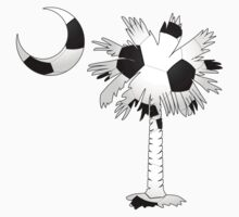 Soccer Palmetto Moon by PalmettoTrading