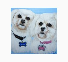 Bailey and Coco painting Unisex T-Shirt