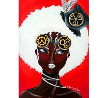 Afro-Steampunk Photographic Print
