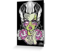 Frankenstein's Bride  Greeting Card
