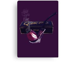 OH THE TASTE AND AROMA..TOBACCO SMOKING PIPE...PILLOW-TOTE BAG,PICTURE,CARD,PHONE SKINS,TABLET SKINS ECT... Canvas Print