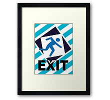 Exit, the urban trend Framed Print