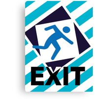 Exit, the urban trend Canvas Print