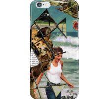 The shores of captivity (lightning on my feet) iPhone Case/Skin