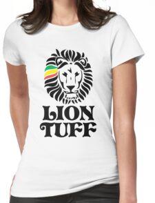 Lion Tuff STK BLK Womens Fitted T-Shirt
