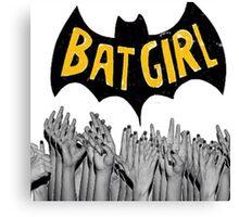 Bad Bad BatGirl Canvas Print