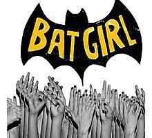 Bad Bad BatGirl Photographic Print