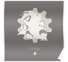 Pokemon Type - Steel Poster